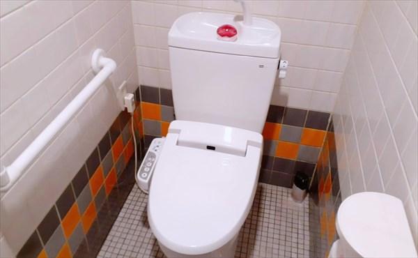 ぎふ就労支援センターのトイレ